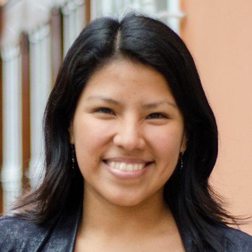 Congresswoman Indira Huilca